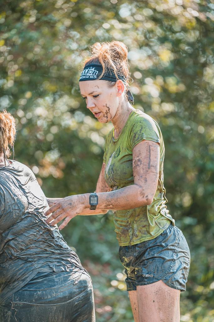 Muddy mud runner.