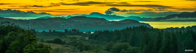 I might just swap heaven for here. Tobermory and Ardnamurchan at sunset. Magnificent. Isle of Mull, Scotland.