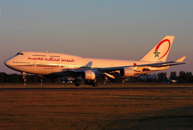 CN-RGA | Royal Air Maroc | Boeing 747-428 | Paris Orly LFPO