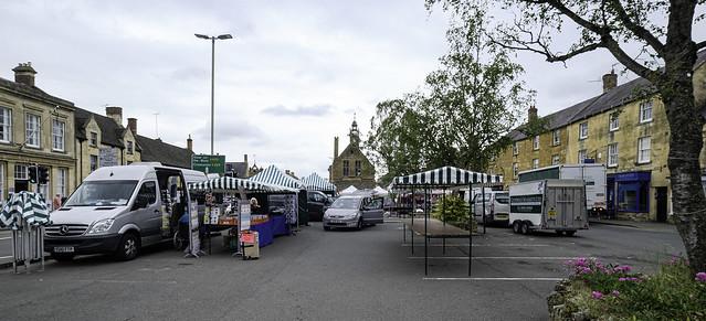 Market day at Moreton-in-Marsh