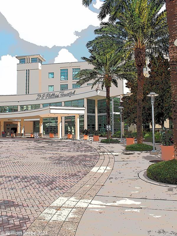 Dr. Phillips Hospital Entrance