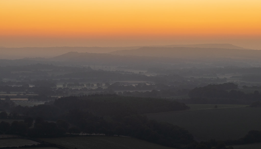 A South Downs Sunrise - 'Explored'