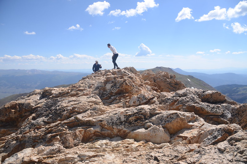 The summit of Mount Belford (2)