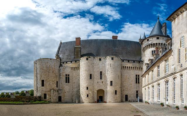 Panorama de la cour, Sully sur Loire