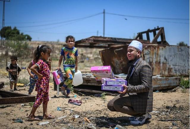 Caprice Tegur Ebit Liew Isu 'Show Off' Misi Bantuan Di Palestin, Akaun Ig Caprice Kena 'Block'