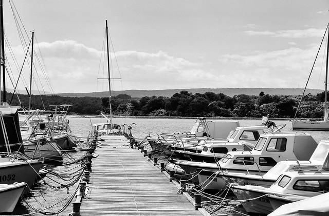 bike and boats
