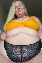 Super fat and sexy with major fat rolls BBW