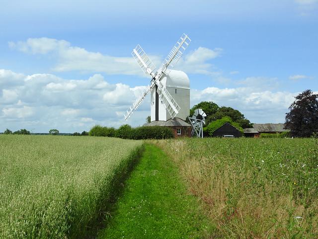 Aythorpe Roding Windmill, Essex