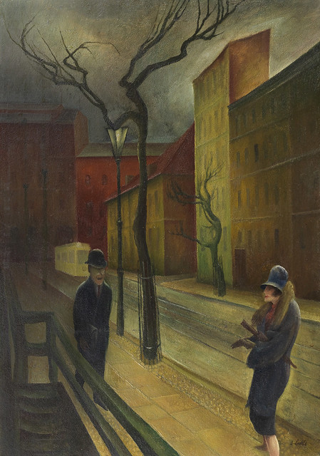 Albert Birkle - Encounter at Dusk [1926]