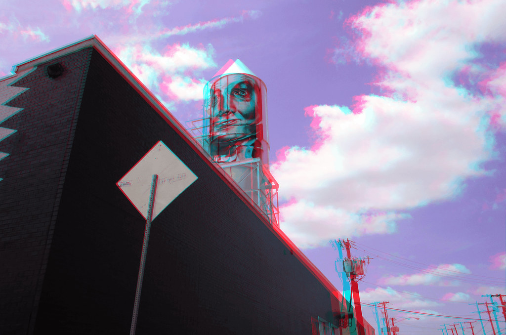 THE TIN MAN 3D RED CYAN ANAGLYPH