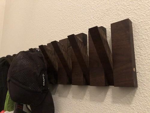 Woodworking: Modern Coat Rack