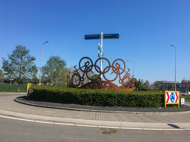Olympic memorial for Marianne Vos