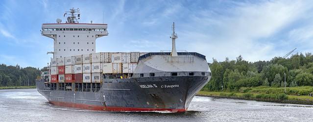 Schiffsverkehr Nord Ostsee Kanal