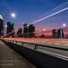 Sunset from Benjamin Sheares Bridge 17 Jul 2021