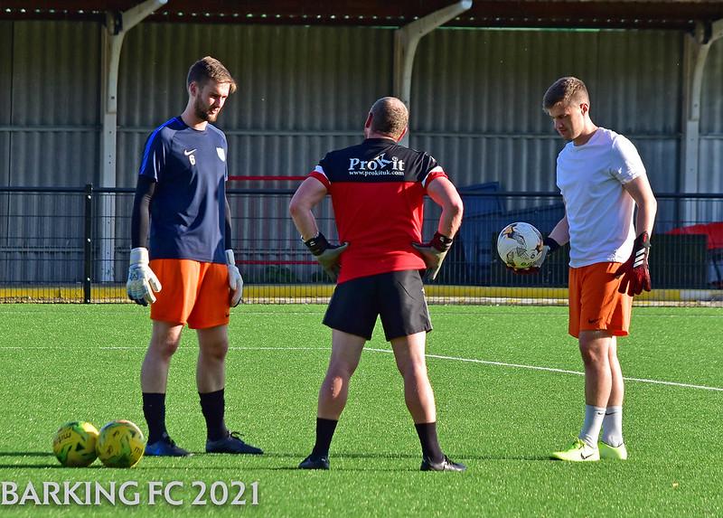 Barking FC v Fisher FC - Friday July 16th 2021
