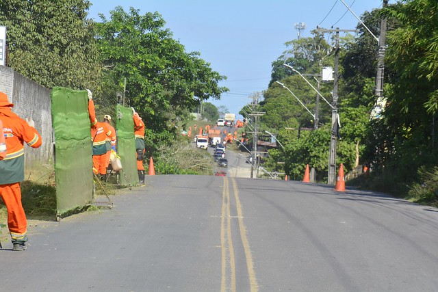 17.07.21 - Prefeitura realiza ação de limpeza no Tarumã