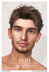 .minou minou. Zeus shape