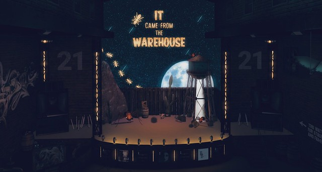 2021 / week 29 / it came from the warehouse stage