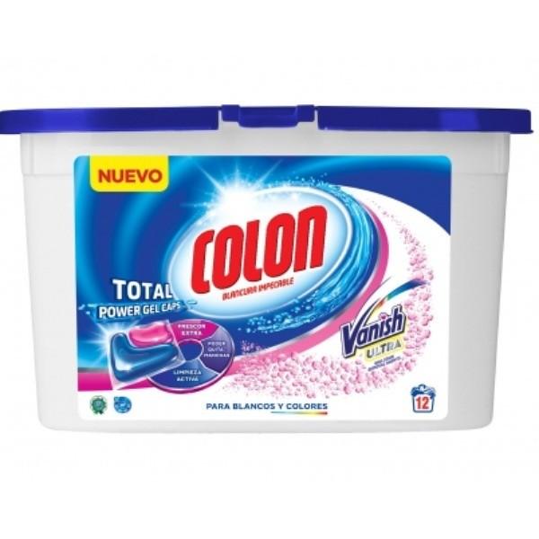 Detergente en Cápsulas COLON Gel Caps Vanish 12 Lavados