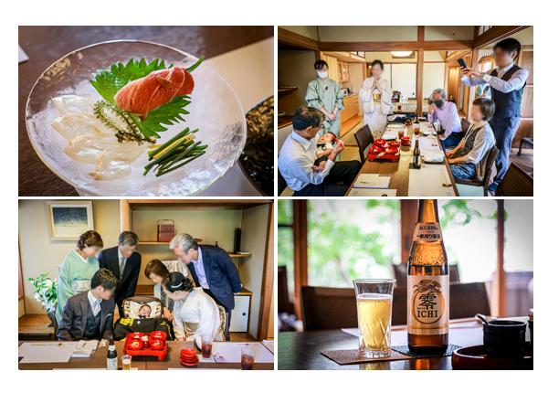 蓬莱軒神宮店でお食い初め(100日祝い)