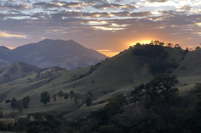 Just before the sunrise in Estância district of Itajubá, Minas Gerais, Brazil.
