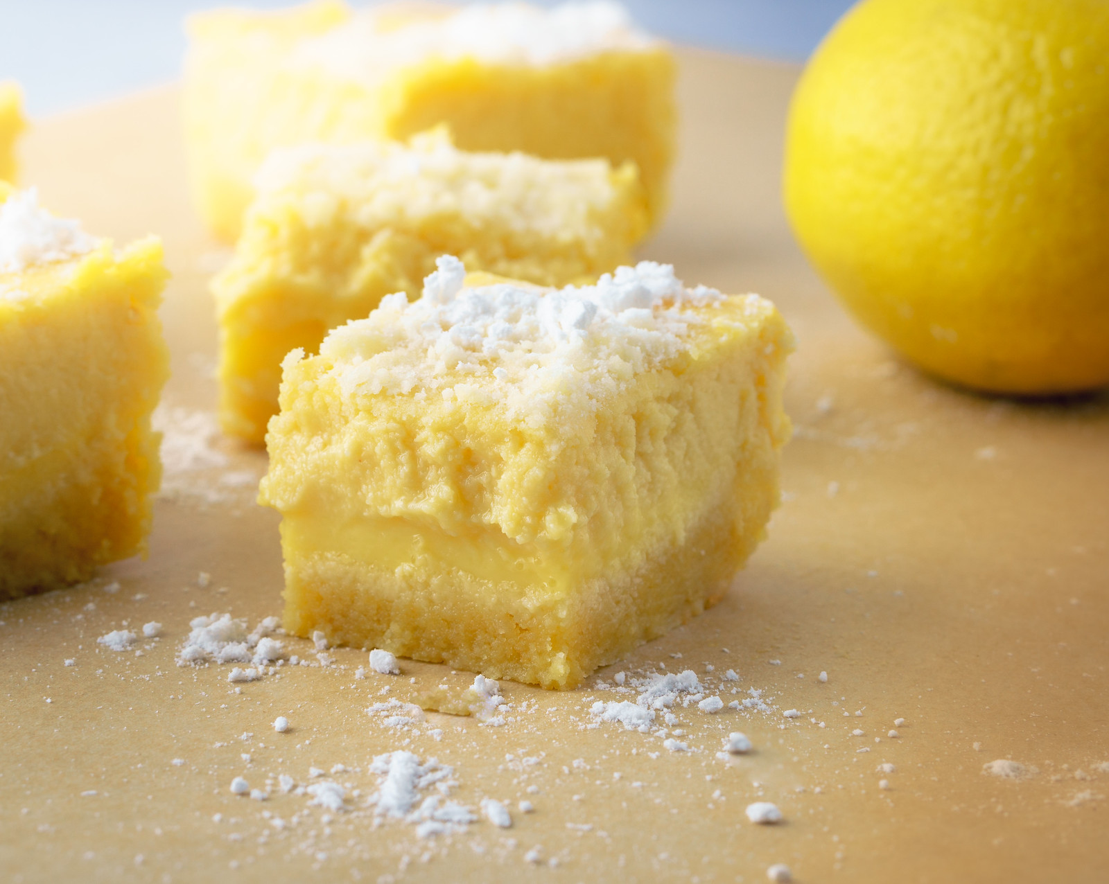 Recipe: Low-Carbohydrate, Healthy Fat Lemon Bars