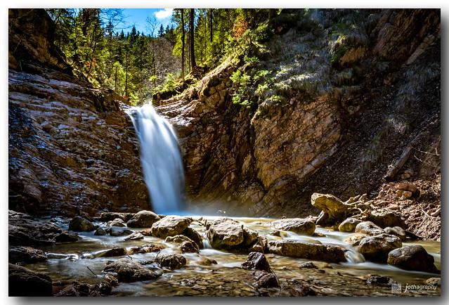 Spotlight on Waterfall