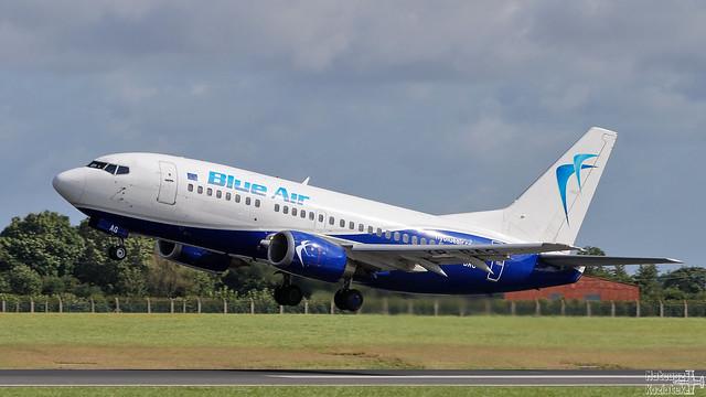 Blue Air 🇷🇴 Boeing 737-500 YR-BAG