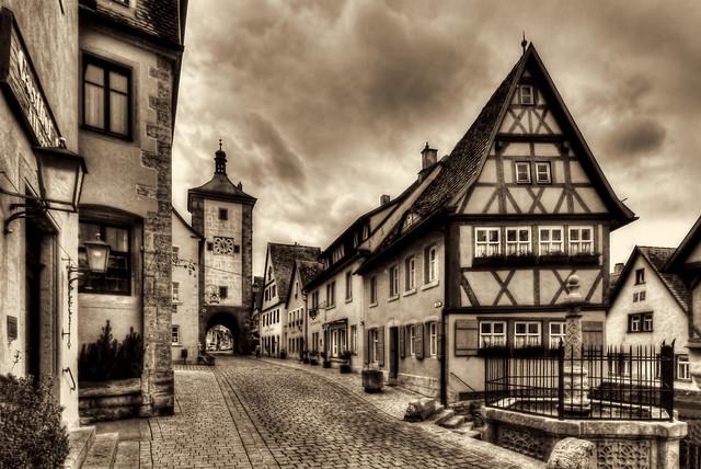 Rothenburg o. d. Tauber - Plönlein 06