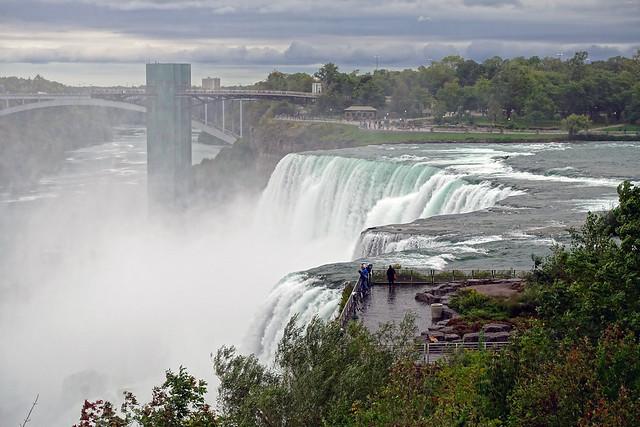 American Falls as seen from Goat Island at Niagara SP, NY (explored)
