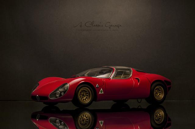 1967 ALFA ROMEO 33 Stradale Prototype