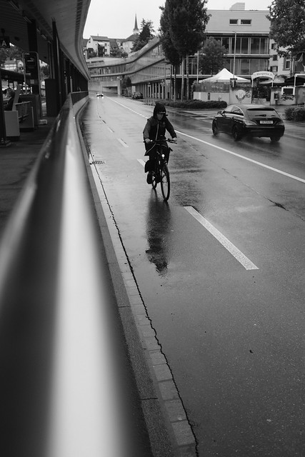 Rain in the street [explored]