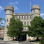 The Keep, Dorchester built c 1880, now a military museum , 17th July 2021.