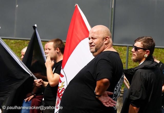 17,.07.2021 Frankfurt Oder 0565 Nazi-Aufmarsch JN&Wolfsschar