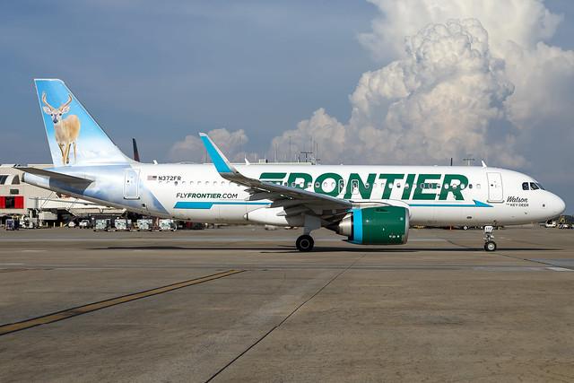 N372FR - Airbus A320-251N - Frontier - KATL - July 2021