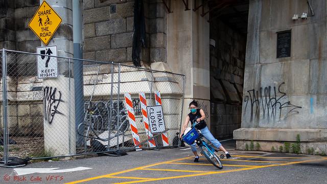 Crashing The Indego Bike