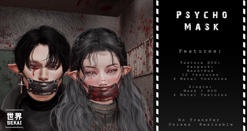 +SEKAI+ Psycho Mask – ManCave Event July