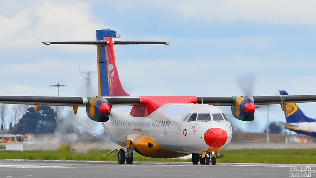 DAT Danish Air Transport 🇩🇰 ATR 72-200 OY-RUG