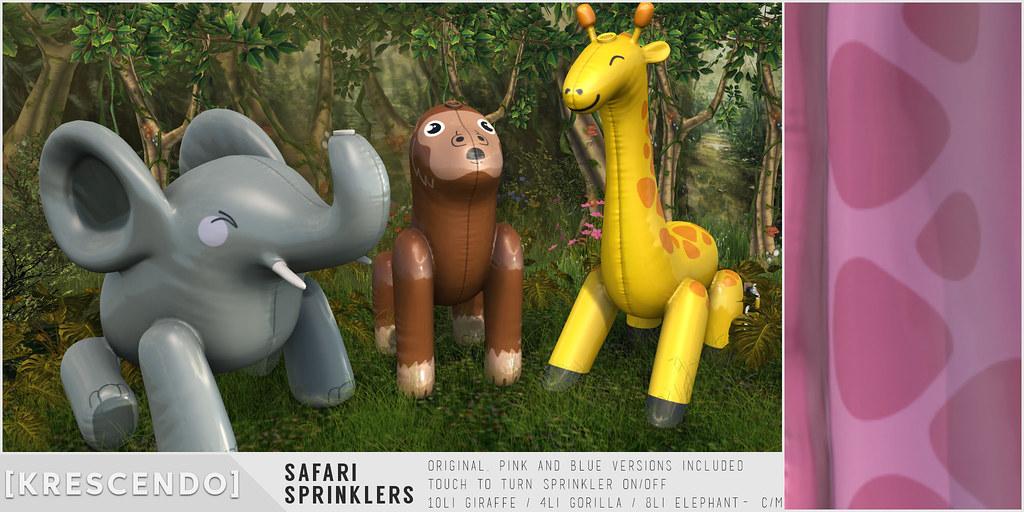 [Kres] Safari Sprinklers