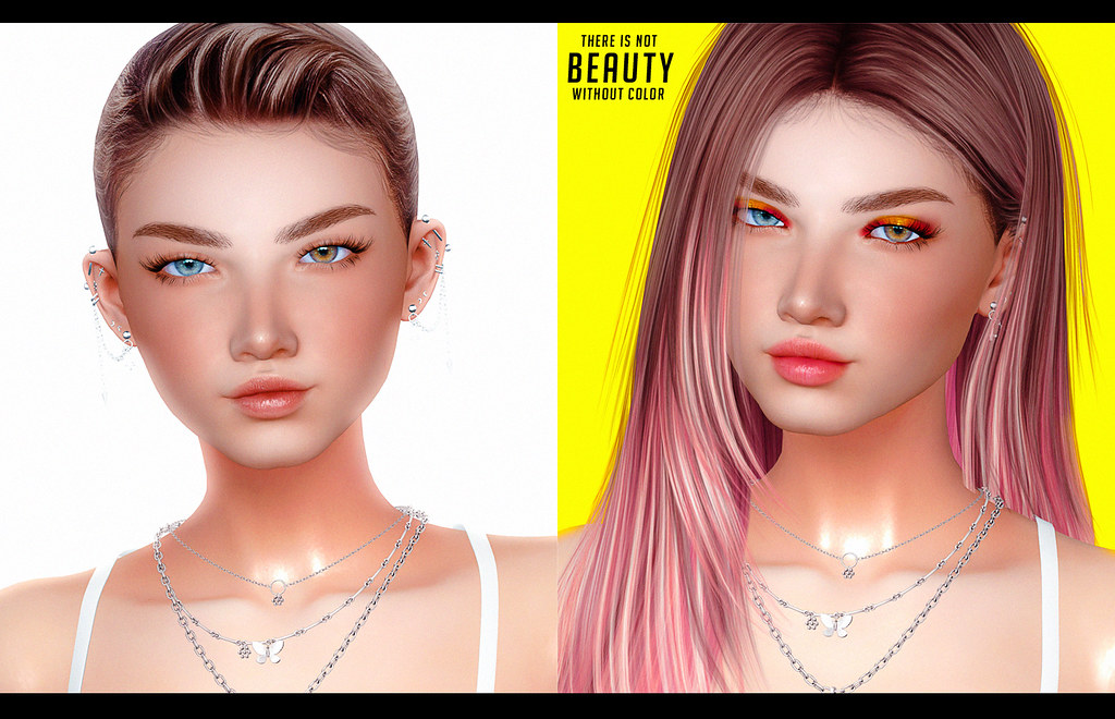 There's not BEAUTY without color ♥ POWDER PACK Lelutka evoX July
