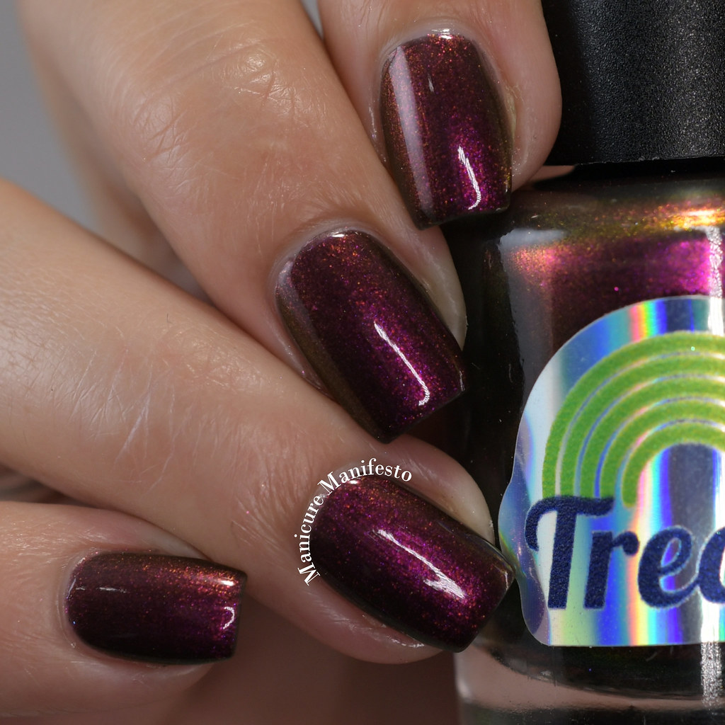 Treo Lacquer Darkness My Old Friend review