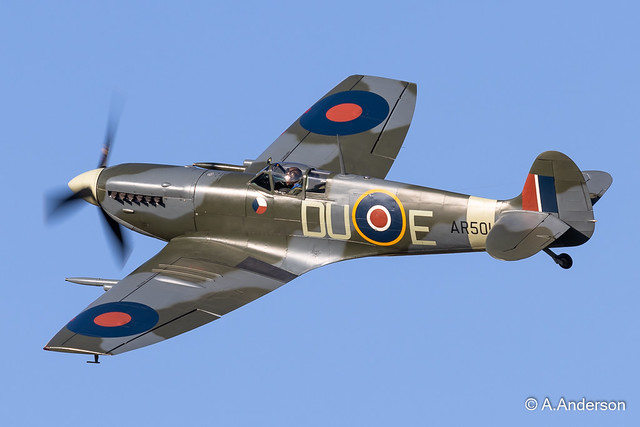 Spitfire MkVc AR501 20210717 OldWarden