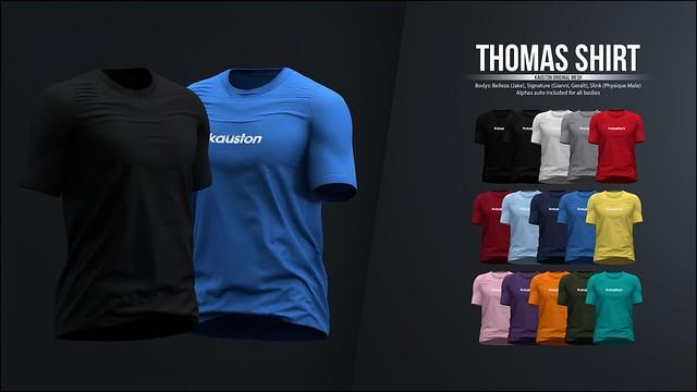 [Kauston] Thomas Shirt
