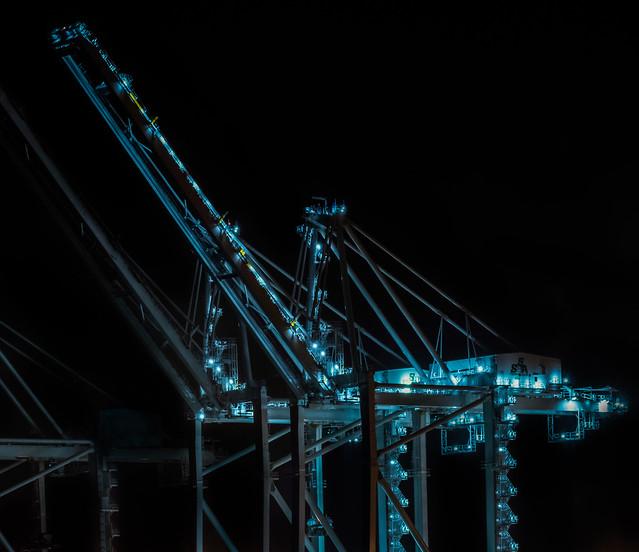 ssa marine new super cranes
