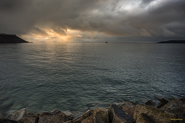 Plymouth Sound Daybreak