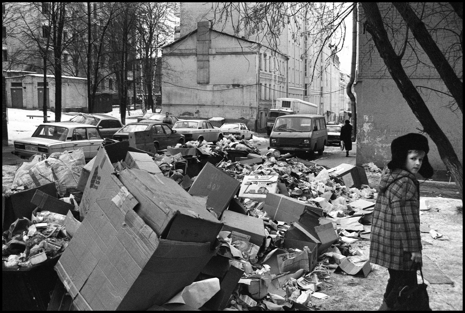 1994. Сретенка. Дети улицы.