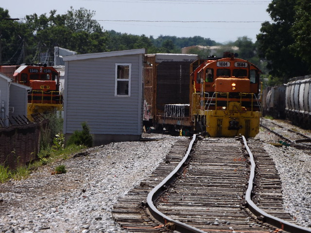 By-passing the scale track