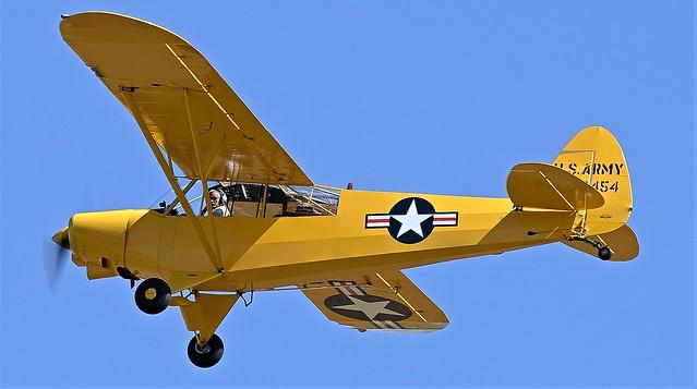 Piper L-21B Super Cub PA-18-135 US ARMY 542454 D-ESMV