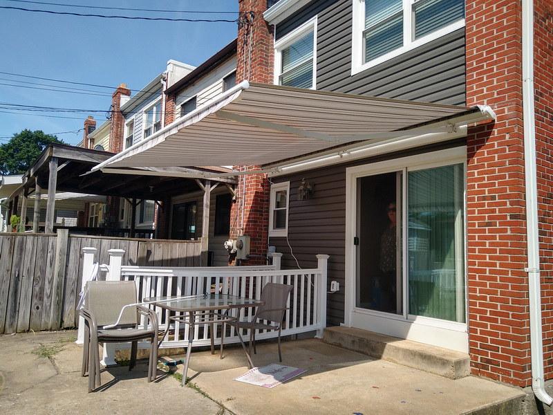 Retractable Awnings Baltimore- DC- Hoffman Awning
