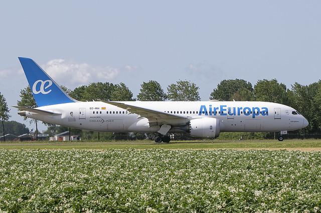 EC-MIH, Boeing 787-8 DReamliner, air Europa